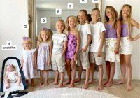 """""""Man ir trīs dēli un sešas meitas"""": kā izskatās mamma, kura 13 gadu garumā dzemdēja bērnus"""