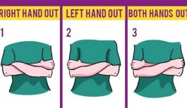 Tests: Tas, kā tu sakrusto rokas, atklāj tavu personību