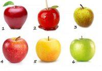 Izvēlieties ābolu un uzziniet, kāda ir jūsu dzīve