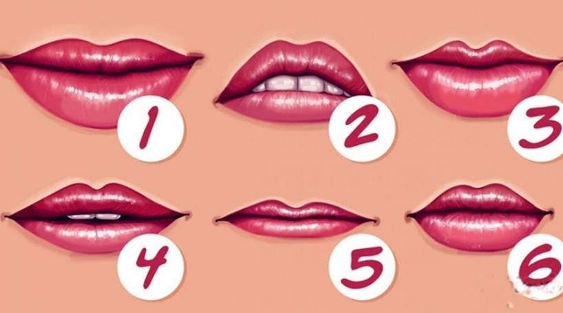 Jūsu lūpu forma: Ko saka par jums un jūsu personību