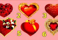 Izvēlieties sirdi un uzziniet , kas jūs gaida jūsu attiecībās