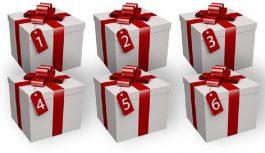 Izvēlieties dāvanu kasti un uzziniet, kādu dāvanu liktenis jums ir sagatavojis