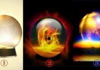 Izvēlieties kristāla bumbu, kas prognozēs, ka jūs sagaida tuvākajās dienās