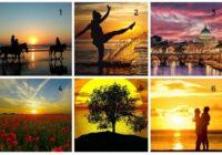 Personības tests: izvēlieties savu iecienītāko saulrietu un uzziniet, ko tas saka par jūsu personību